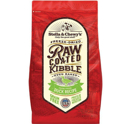 Stella & Chewy's Raw Coated Duck Recipe Dry Dog Food - Paw Naturals