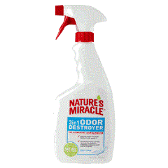 Nature's Miracle 3 In 1 Odor Destroyer Unscented 24oz
