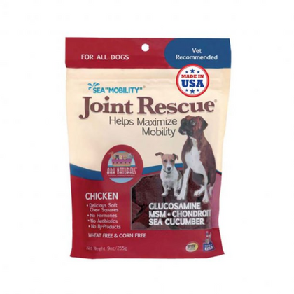 Ark Naturals Sea Mobility Joint Rescue Jerky Dog Treat 9 Oz Chicken - Paw Naturals