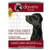 Dave's Pet Food Restricted Grain Free Protein Chicken 13.2oz Canned Dog Food - Paw Naturals