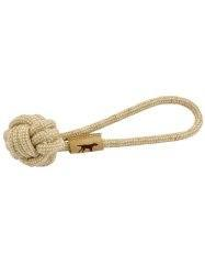"Tall Tails Rope Tug Natural Cotton 13"" Dog Toy"