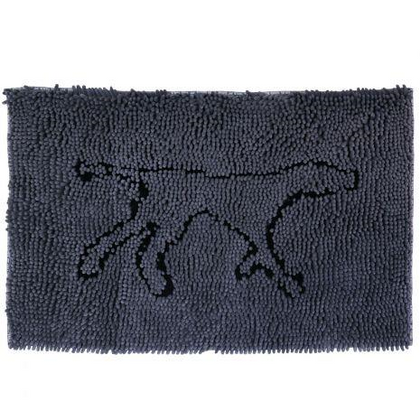 Tall Tails Wet Paws Mat Charcoal Large - Paw Naturals
