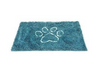 Dog Gone Smart Dirty Dog Doormat Pacific Blue Medium - Paw Naturals