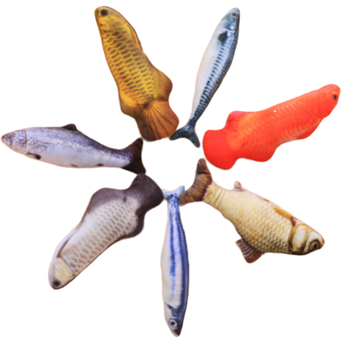 Sparky & Co Realistic Fish Catnip Toy for Cats