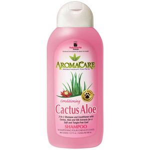 Professional Pet Products AromaCare Conditioning Cactus Aloe Shampoo 13.5oz - Paw Naturals