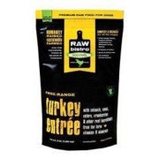 Raw Bistro Frozen Turkey Entree For Dogs - Paw Naturals