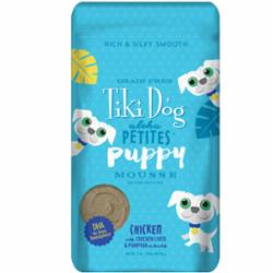 Tiki Pet Aloha Mousse 3oz Pouch Dog Food Puppy - Paw Naturals