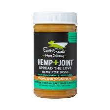 Super Snouts Nutty Dog CBD Peanut Butter Hip & Joint 240mg - Paw Naturals