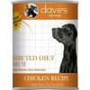 Dave's Pet Food Restricted Sodm Chicken 13oz Canned Dog Food - Paw Naturals