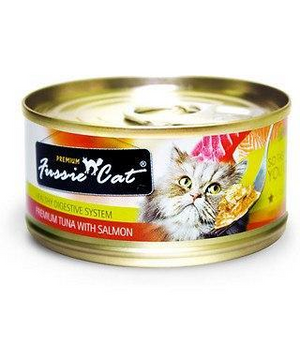 Fussie Cat Tuna With Salmon 2.82oz Canned Cat Food - Paw Naturals