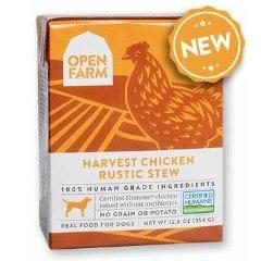 Open Farm Rustic Stew Chicken Canned Dog Food 12.5oz - Paw Naturals