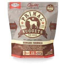 Primal Raw Frozen Dog Venison Nugget 3lb