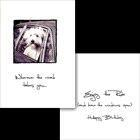 Dog Speak Wherever The Road Takes You Birthday Card