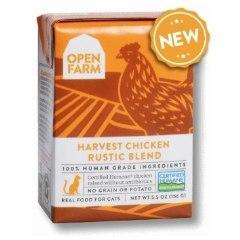 Open Farm Rustic Blend Chicken Canned Cat Food 5.5oz