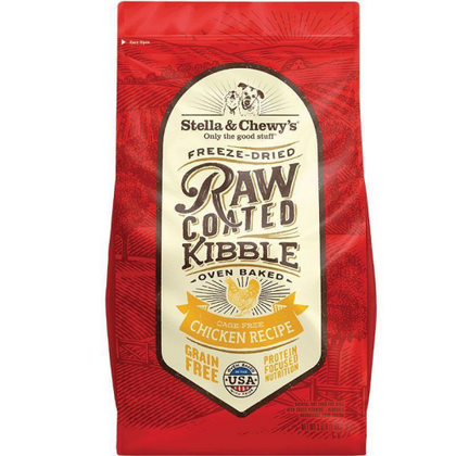 Stella & Chewy's Raw Coated Chicken Dry Dog Food - Paw Naturals