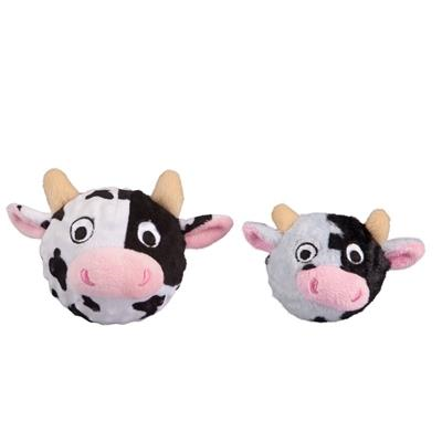 Fabdog Country Critter Cow Faball Dog Toy