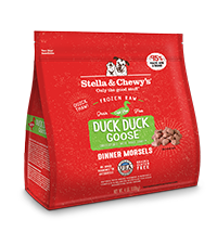 Stella & Chewy's Duck Duck Goose Morsels Intro 8.5oz Raw Frozen Dog Food