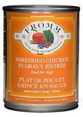 Fromm Shredded Chicken 13oz Canned Dog Food