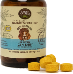 Earth Animal Zen Tabs For Dogs & Cats - Paw Naturals