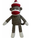 Lulubelle's Sock Monkey Koko Dog Toy