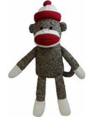 Lulubelle's Sock Monkey Koko-Tan
