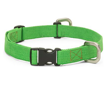 West Paw Design Strolls Collar Greenery / Small - Paw Naturals