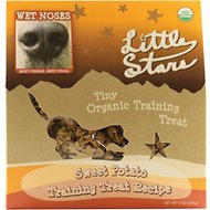 Wet Noses Little Star Sweet Potato USDA Organic Dog Treat 9oz