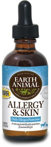 Earth Animal Organic Herbal Remedy Allergy & Skin 2oz - Paw Naturals
