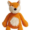 fabdog Floppy Fox Plush Dog Toy