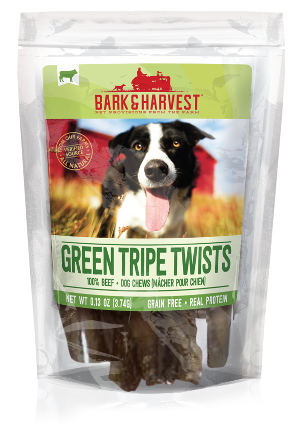 Superior Farms Bark & Harvest Green Tripe Twists 9ct