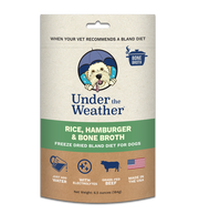Under The Weather Rice, Hamburger & Bone Broth Bland Diet 6.5oz - Paw Naturals