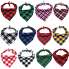 Sparky & Co Fall Couture Plaid Flannel Bandanas
