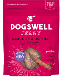 Dogswell Immune Defense Duck Jerky 10oz Dog Treats