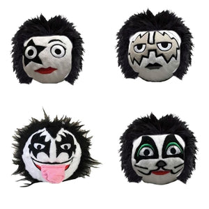 fabdog Official KISS faball Squeaky Toy (4 Pack)