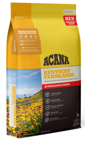 Acana Regionals Kentucky Farmlands + Wholesome Grains Dry Dog Food 4LB - Paw Naturals