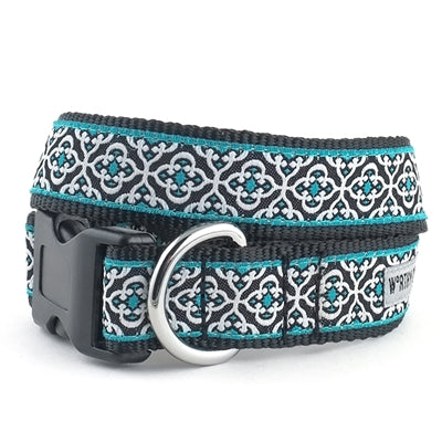 The Worthy Dog Knightsbridge Teal Collar & Lead Collection