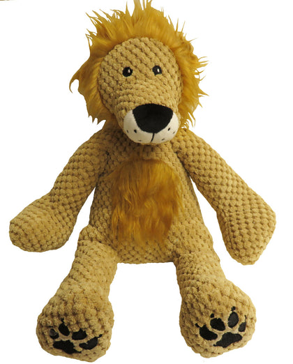 fabdog Floppy Lion Plush Dog Toy