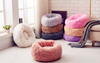 Sparky & Co Marshmallow Soft & Fluffy Donut Bed - Paw Naturals