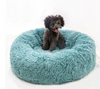 "Sparky & Co Marshmallow Soft & Fluffy Donut Bed Soft Teal / 15.7"" - Paw Naturals"