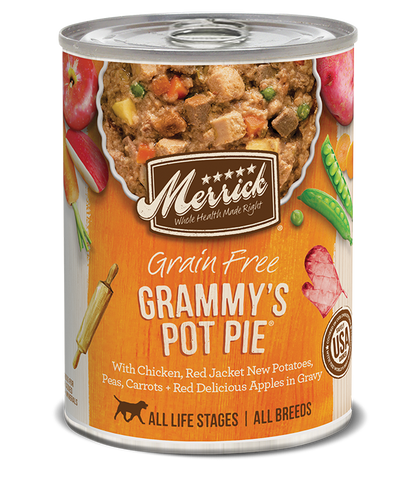Merrick Grammy's Pot Pie 12.7oz Canned Dog Food