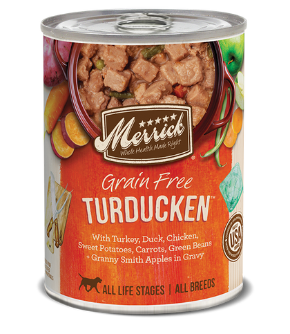Merrick Turducken 12.7z Canned Dog Food