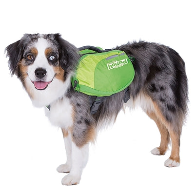 Outward Hound Daypak Dog Backpack Hiking Gear For Dogs Medium / Green - Paw Naturals