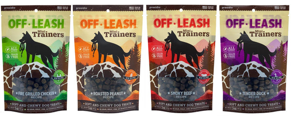 Presidio Off Leash Mini Trainers Dog Treats