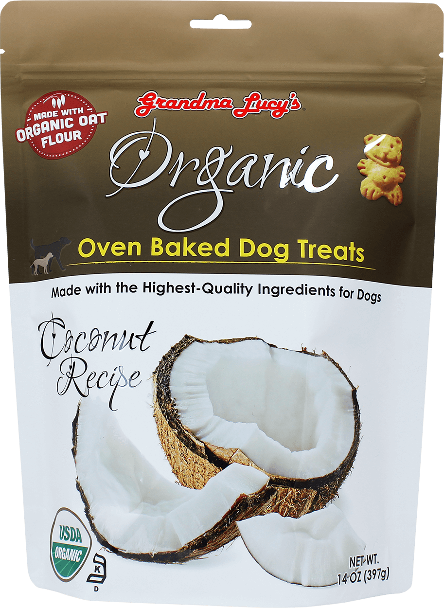 Grandma Lucy's Organic Oven Baked Dog Biscuits