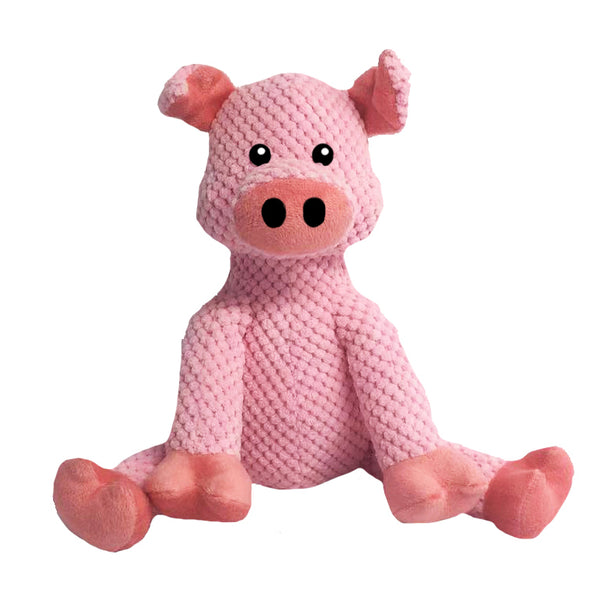 fab dog Floppy Pig Plush Dog Toy