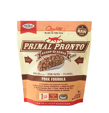 Primal Pronto 1Lb Raw Frozen Cat Food