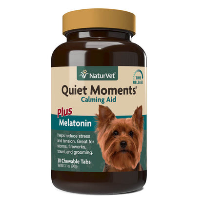 NaturVet Quiet Moment Calm Dog 30ct - Paw Naturals