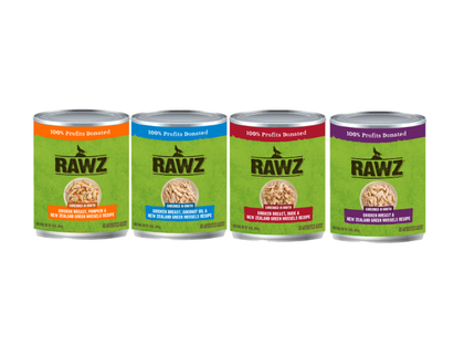 Rawz Shredded Recipe Canned Dog Food