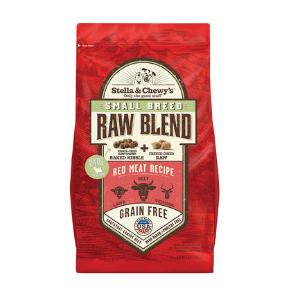 Stella & Chewy's Raw Blend Red Meat Small Breed Recipe Dry Dog Food 3.5LB - Paw Naturals