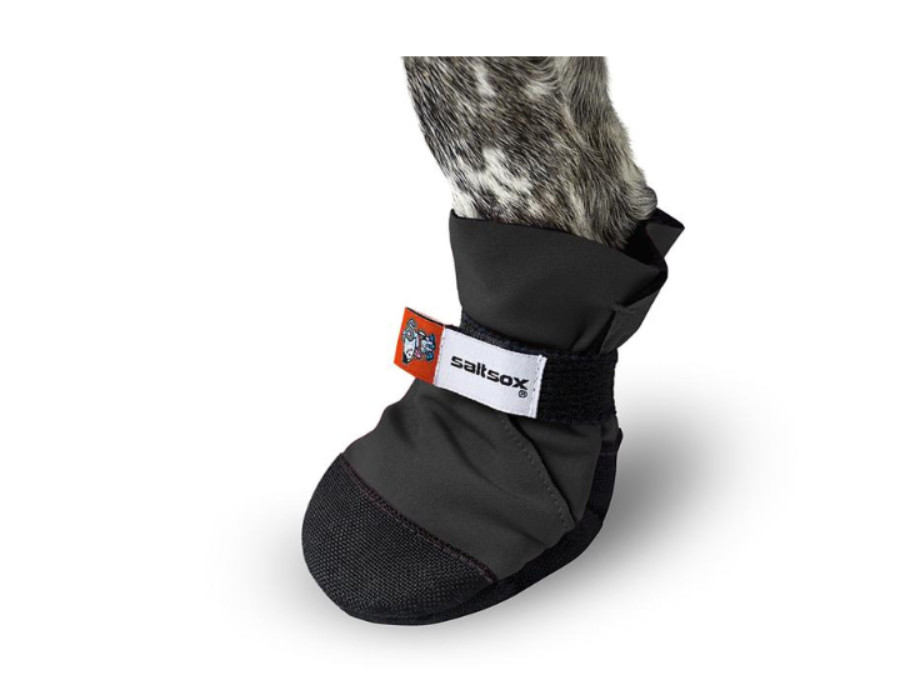 Saltsox Weatherproof Urban Bootie In Blizzard Black